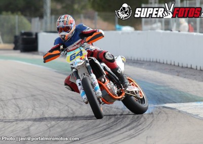 Supermotard en Albaida